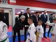 Minister Sportu Korei Południowej z wizytą w Sportowym Klubie Niedźwiedź